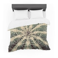 "Angie Turner ""Cactus"" Plant Featherweight Duvet Cover"