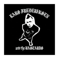 Lars Frederiksen & The Bastards Men's Album 1 Cloth Back Patch Black