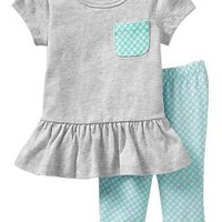 Jersey Tunic & Legging Sets for Baby