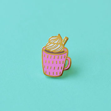 Hot Cocoa Enamel Pin