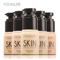 FOCALLURE Brand Makeup Base Face Liquid Foundation BB Cream Concealer Whitening Moisturizer Oil-control Waterproof Maquiagem