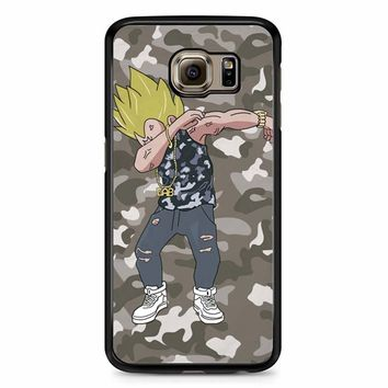 Dragon Ball Camo Samsung Galaxy S6 Case