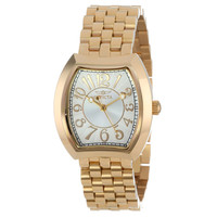 Invicta 15039 Women's Angel Silver Dial Gold Plated Stainless Steel Watch