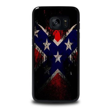 BROWNING REBEL FLAG Samsung Galaxy S7 Edge Case Cover