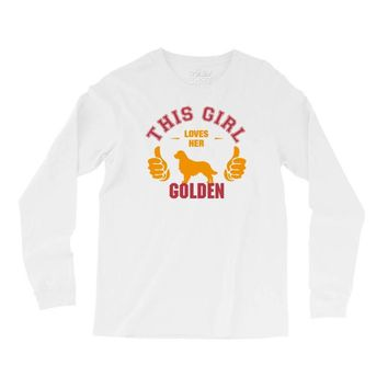 This Girl Loves Her Golden Long Sleeve Shirts