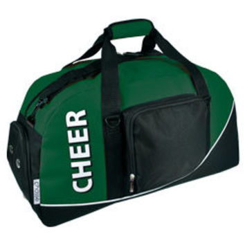 Cheer Duffle Bag with 2 Color Imprint