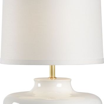 Gainsboro Lamp - White