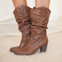 Cowgirl Rodeo Boot Camel