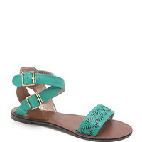 Qupid Athna Ankle Strap Sandals at PacSun.com