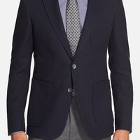 BOSS 'Raye' Trim Fit Cotton Blend Blazer,