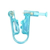 Vktech Disposable Safety Ear Piercing Gun Unit Tool With Ear Stud Asepsis Pierce Kit