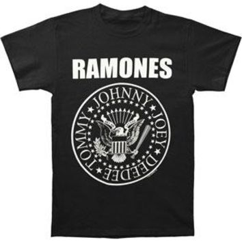 Ramones Men's  Jumbo Seal T-shirt Black