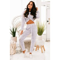 Make It Yours Two Piece Lounge Set (Lavender)