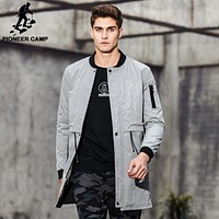 New arrival Spring trench coat men clothing fashion men long coat top quality male overcoat