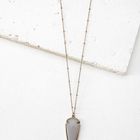 Etched Arrow Necklace