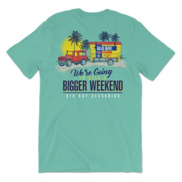 We're Going To Need A Bigger Weekend Old Bay Cooler (Chalky Mint) / Shirt