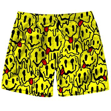 Trippy Emoji Shorts