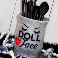 Doll Face || Makeup Brush Holder