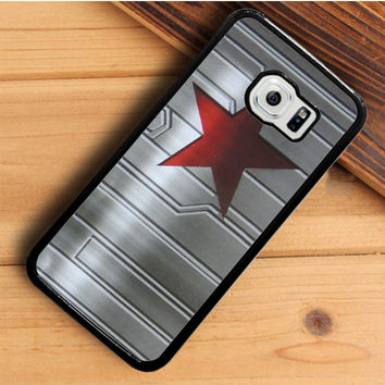 Bucky Barnes Star Symbol Samsung Galaxy S6 Edge Plus  Case  Dollarscase.com