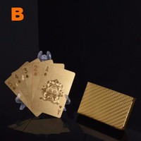24K Gold Plated Deck