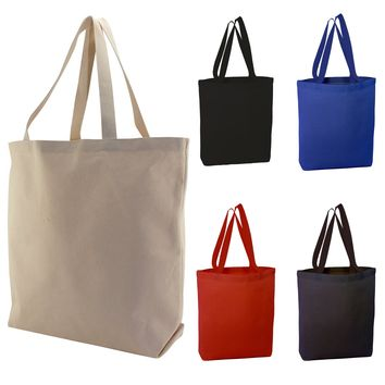 Canvas Tote Bags | High Quality Canvas Bags w/ Bottom Gusset | TG200