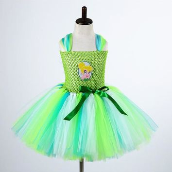 Tinkerbell  Fairy Cosplay Costume Dress