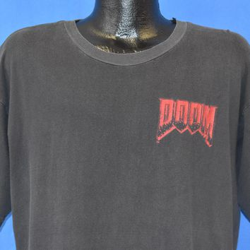 90s Doom Video Game Nothing Can Save You t-shirt Extra Large