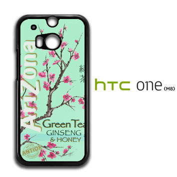 Arizona Green Tea SoftDrink HTC One M8 Case