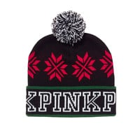 Bling Beanie - PINK - Victoria's Secret