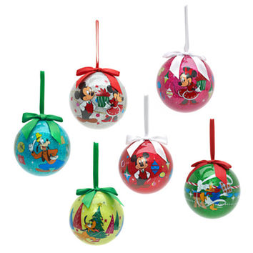 Disney Mickey Mouse and Friends Baubles, Set of 6 | Disney Store