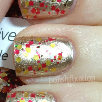Belle - Full Size (15ml/.5oz) Glitter Nail Polish