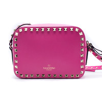 Valentino Women's Light Rockstud Camera Shoulder Bag