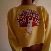 Pillsbury Dough Boy Crop Sweater