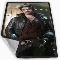 Colin O Donoghue Once Upon A Time Blanket for Kids Blanket, Fleece Blanket Cute and Awesome Blanket for your bedding, Blanket fleece *