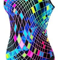 Women's Disco Inferno Diamondfit Swimsuit - Competition - Swimwear - Womens  | TYR