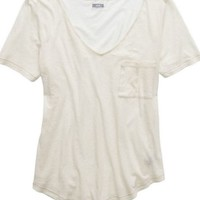 Aerie Women's Charley T-shirt (Heather Frost)