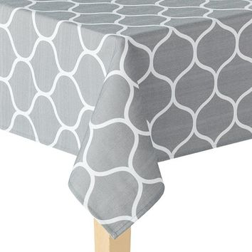 Food Network Ogee Geometric Tablecloth