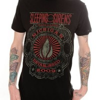 Sleeping With Sirens Grand Rapids Slim-Fit T-Shirt 2XL