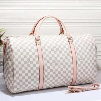 GAPKH7 Louis Vuitton Leather Travel Bag