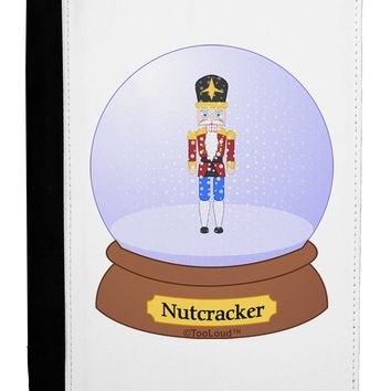 Nutcracker Snow Globe - Red Gold Black Ipad Mini Fold Stand  Case by TooLoud