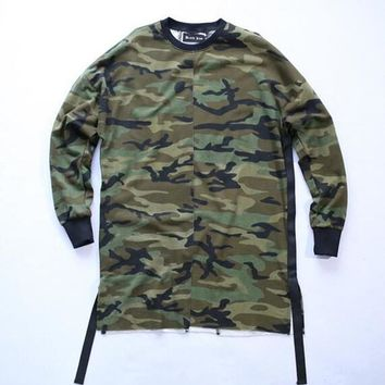 Mens casual thin hip hop camouflage hoodies oversized sweatshirt men women camo sport palace skateboards pullover chandal hombre