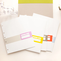 Russell+Hazel Signature Paper Pockets - See Jane Work