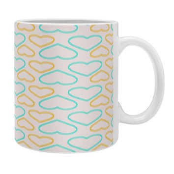 Allyson Johnson Cute Hearts Coffee Mug