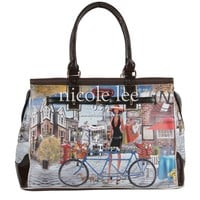 KIMBRIELLA BICYCLE PRINT OVERNIGHT BAG - NEW ARRIVALS