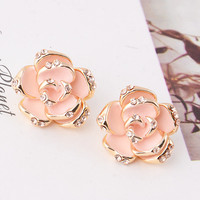 Flower flower earrings a from seedlingdesignstudio