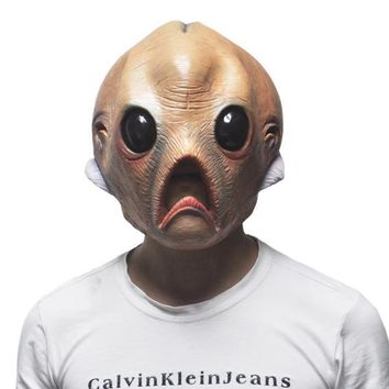 2015 Halloween Alien Mask The Extra Terrestrial ET Latex Mask halloween costume PARTY mask