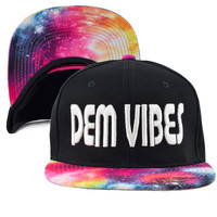 Fuchsia Space Snapback Rave Hat