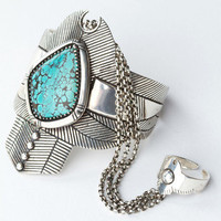 Thunderstruck Turquoise Cuff | Spell