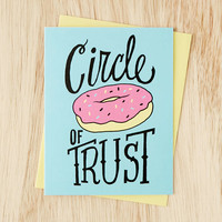Denik Circle Of Trust Card - Urban Outfitters