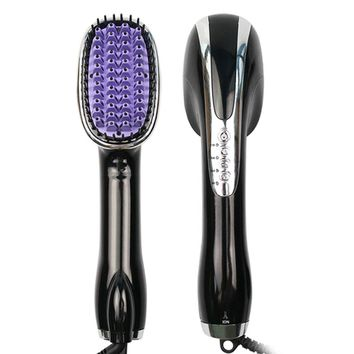 Electric Blow Brush Hair Dryer Professional Hot Air Styler Hair Styling Tools hair brush straightener